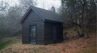 """Two Cabins""   Between 2007 and 2008, independent film-maker James Benning built replicas of two cabins in a remote part of the High Sierras: Henry David Thoreau's from Walden […]"