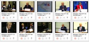 milosevic trial public archive image